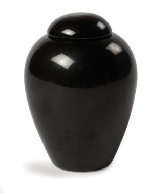 TRIBUTE-URN-Gloss-Black-Central-Pet-Cremations
