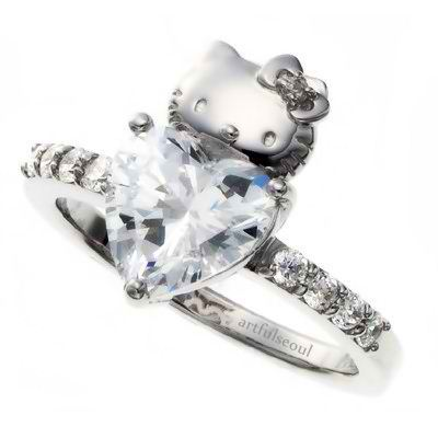 hello-kitty-wedding-engagement-ring