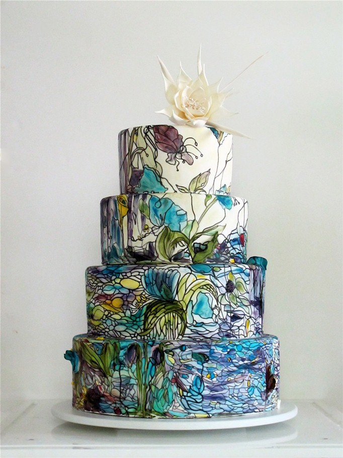Maggie-Austin-Cake-Stained-Glass-Queen-of-the-Night