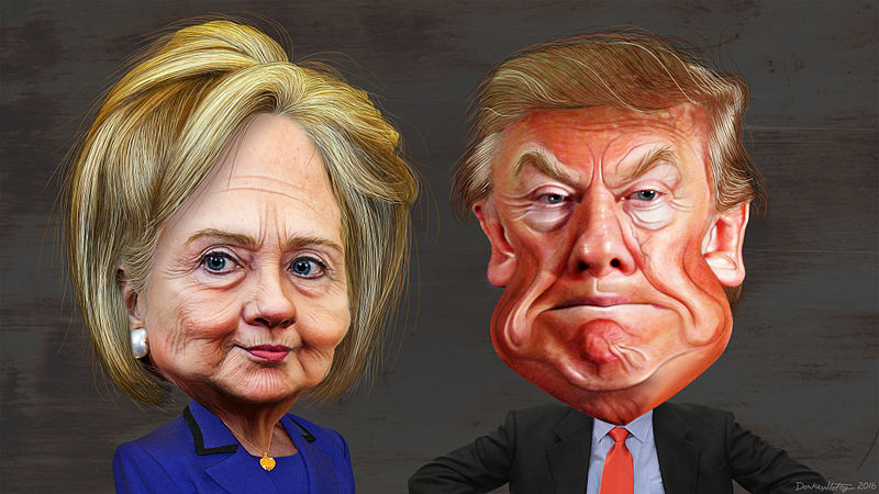 Hillary_Clinton_vs._Donald_Trump_-_Caricatures.jpg