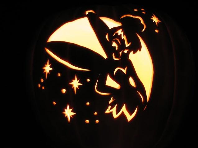 tinkerbell-pumpkin-carving-design